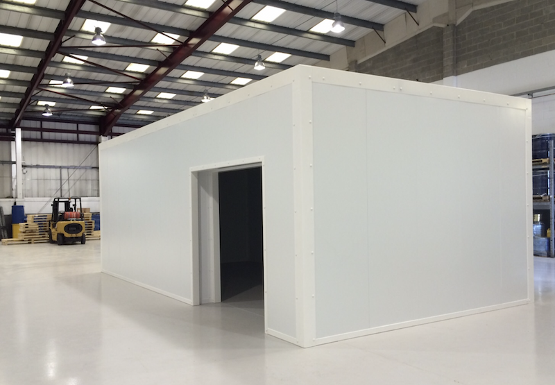 Fire and security rated 'box within a box' project completed